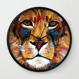 Lion of Judah Wall Clock