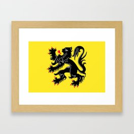 Flanders Framed Art Print