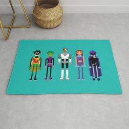 Teenage Superheroes Rug