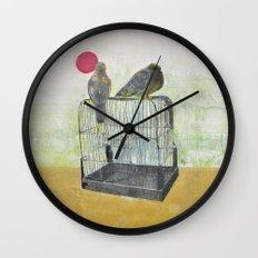 Free Birds Wall Clock