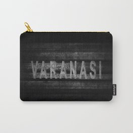 Varanasi lettering, Varanasi Tourism and travel Carry-All Pouch