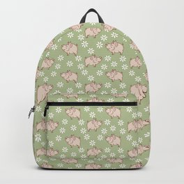 pig in the meadow Backpack