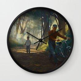 Familiar #8 Wall Clock