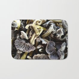 Chopped mushrooms - Forest harvest Bath Mat