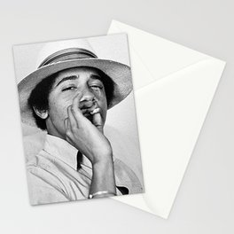 President Obama Smoking Stationery Cards