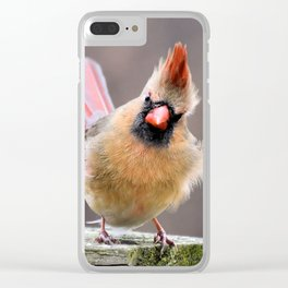 Just Enough Attitude Clear iPhone Case