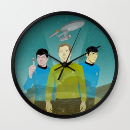 The Enterprise Trio  Wall Clock