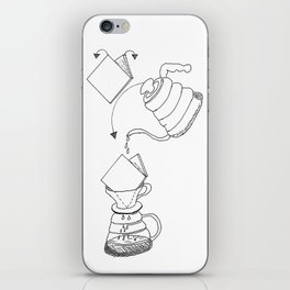 Pour Over iPhone Skin