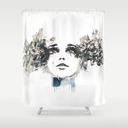 Edie Sedgwick Shower Curtain