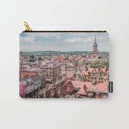 View of Oxford with Steeple | Europe UK City Architecture Landscape Photography Carry-All Pouch