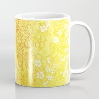 erotic Mugs featuring Floral Beauty  by Stevyn Llewellyn