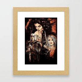 Wiedzmin Framed Art Print