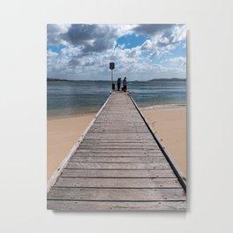 Little Beach Reserve, Nelson Bay Metal Print