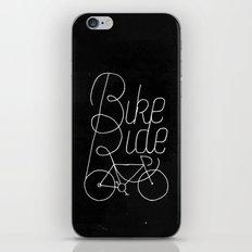 Bikeride iPhone & iPod Skin