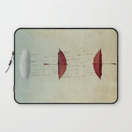 the umbrella runneth over and over Laptop Sleeve