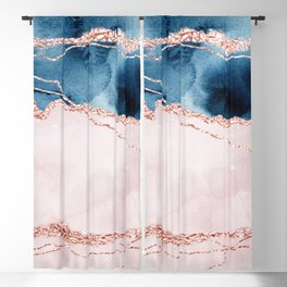storm whipped sea I Blackout Curtain