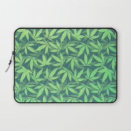 Cannabis / Hemp / 420 / Marijuana  - Pattern Laptop Sleeve