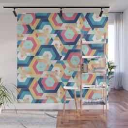 Modern geometric abstract pattern Wall Mural