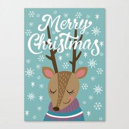 Merry xmass Canvas Print