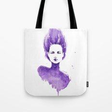 Purple Water Faery Tote Bag