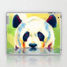 Panda taking a bath Laptop & iPad Skin
