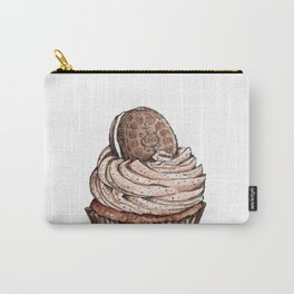 Watercolor Oreo Cupcake Carry-All Pouch