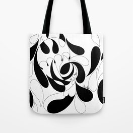 Rain Girl Tote Bag