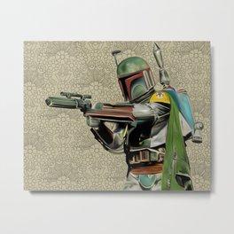 Starwars Boba Fett Metal Print