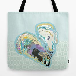 O is for Oyster Tote Bag