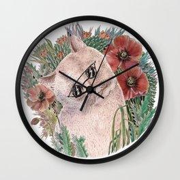 Poppy Cat Wall Clock