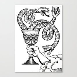 Badwill Canvas Print