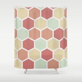 Honeycombs Shower Curtain