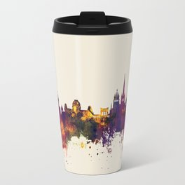Lausanne Switzerland Skyline Travel Mug