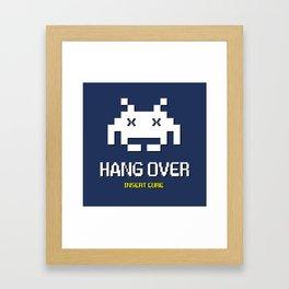 HANG OVER - Insert Cure Framed Art Print