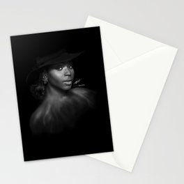Normani Kordei 'Reflection' Digital Painting Stationery Cards