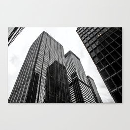 ArtWork New York City Print Work black white Canvas Print