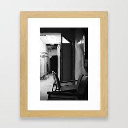 basement Framed Art Print