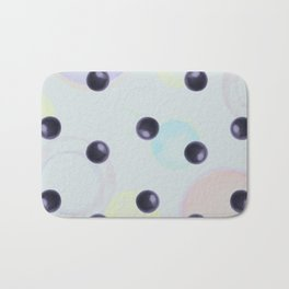 Plums Pattern Bath Mat