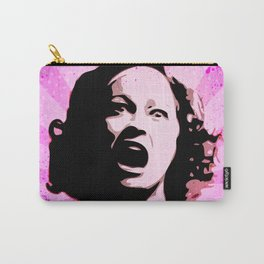 Mommie Dearest - No Wire Hangers, Ever - Pop Art Carry-All Pouch