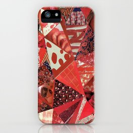 Collage - Red Hott iPhone Case