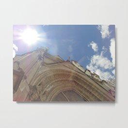 La Basílica del Sagrado Voto Nacional, Uno Metal Print
