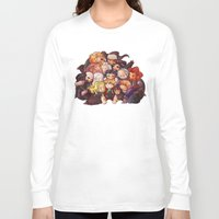 the hobbit Long Sleeve T-shirts featuring Hug the hobbit by quelm