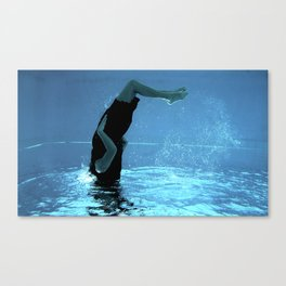 Immersed III Canvas Print