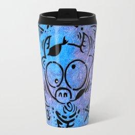 Lucky goes pop n7 Travel Mug