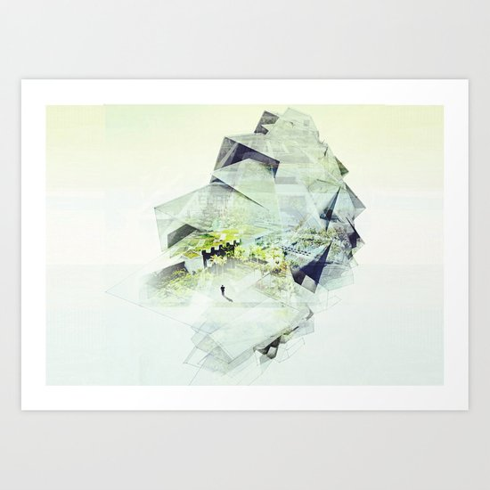 [MEMORY-DISTANCE] Art Print