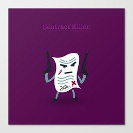 A&A - Contract Killer. Canvas Print