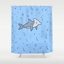 Little Hammerhead shark Shower Curtain