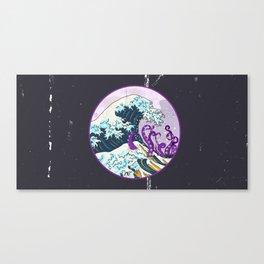 GREAT KRAKEN WAVE Canvas Print
