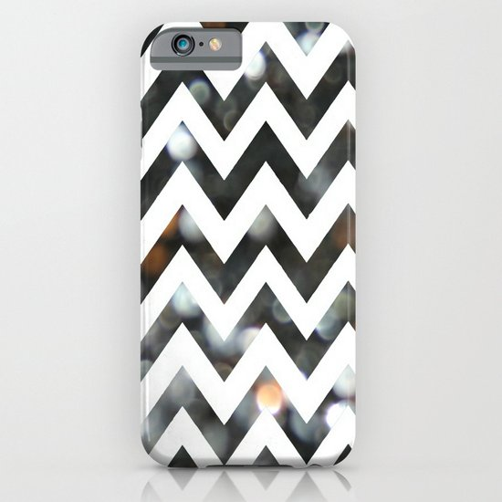 Chevron Glitter iPhone & iPod Case