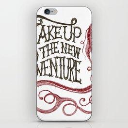 FISH - Wake up to the new adventure iPhone Skin